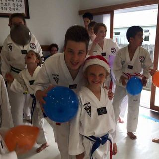 CHRISTCHURCH OLYMPIC TAEKWONDO 2015 CHRISTMAS GAMES AND PRIZE GIVING