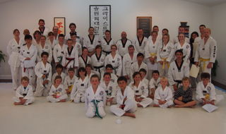 CHRISTCHURCH OLYMPIC TKD CLUB GRADING  DECEMBER 2013