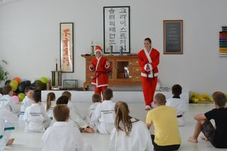 Christchurch Olympic Taekwondo 2014 Annual Christmas Games and Prize-giving